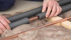 insulating pipes