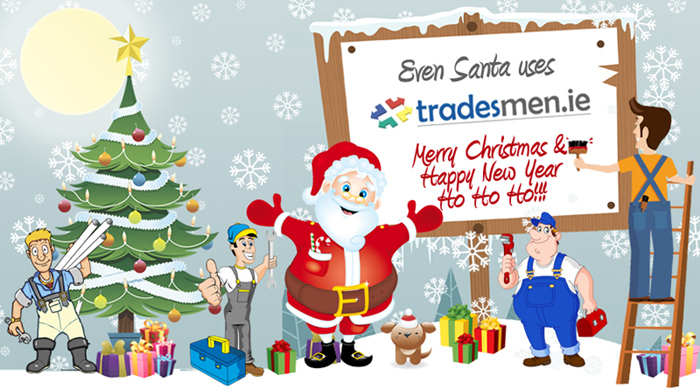 Happy Christmas from Tradesmen.ie!!