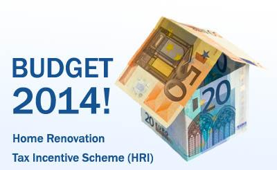 Home Renovation Tax Incentive Scheme HRI