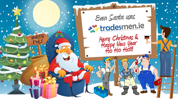 Happy Christmas from everyone at tradesmen.ie