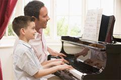 home hobby piano practice