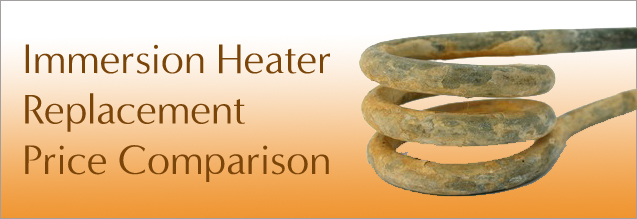 immersion heater replacement price comparison