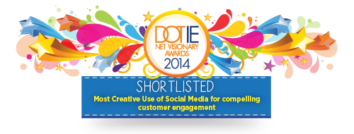 Net Visionary Awards Shortlisted Badges-Most Creative Use of Social Media for compelling customer engagement