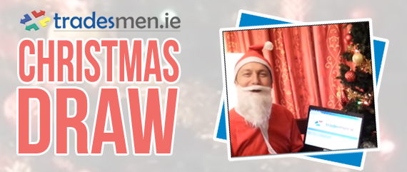 Tradesmen.ie Christmas Draw 2014