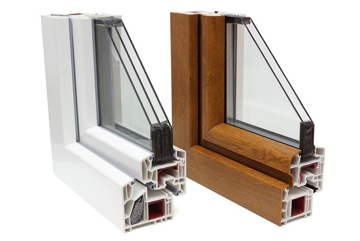 PVC Double and Triple Glazed Window Profiles