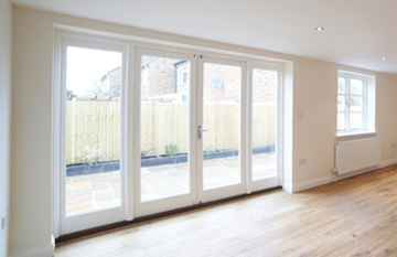 White PVC Double Glazed French Doors