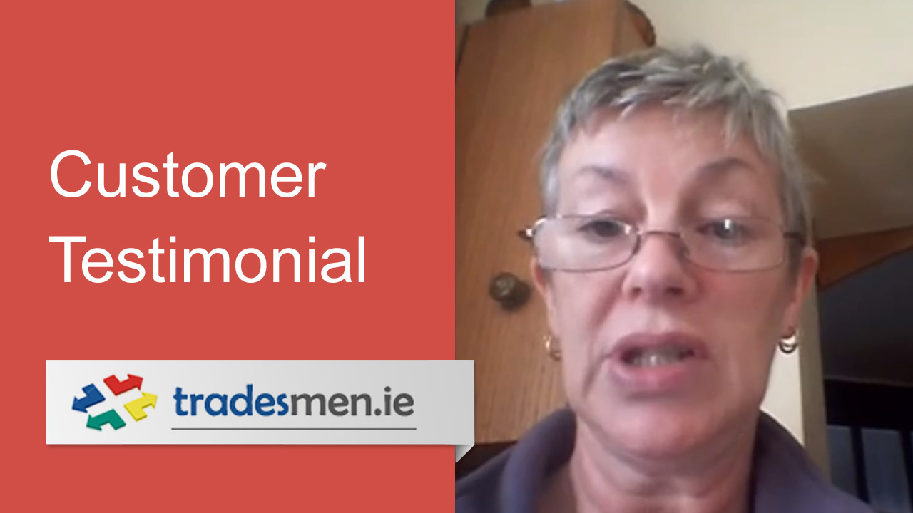 Customer testimonial from breda trimble