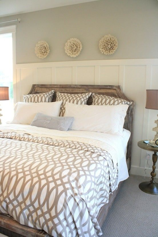wainscotting bedroom