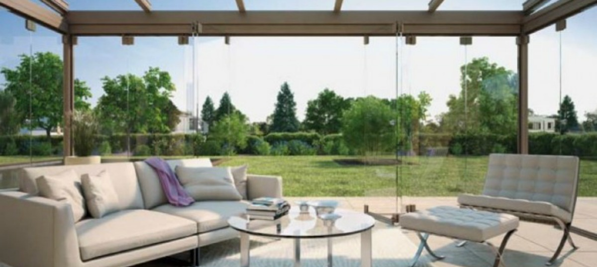 How to add an extra room to your house for Garden glass room