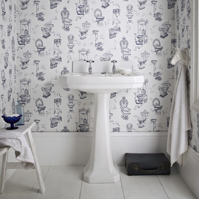 Graham Brown loo loo wallpaper