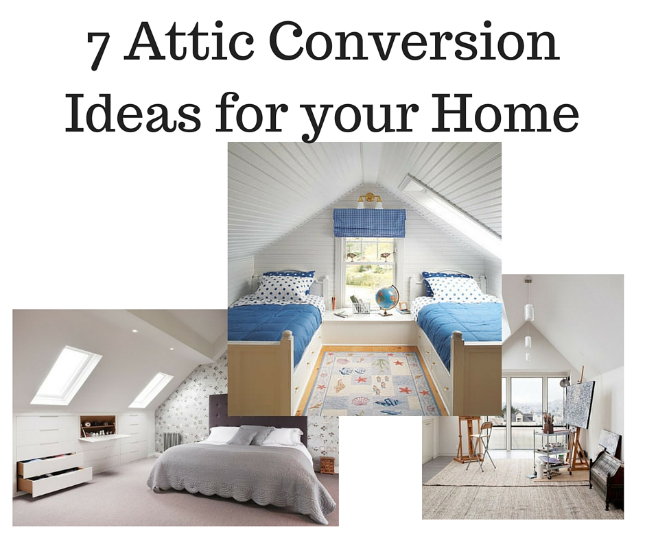 attic loft bedroom ideas - 7 Attic Conversion Ideas For Your Home