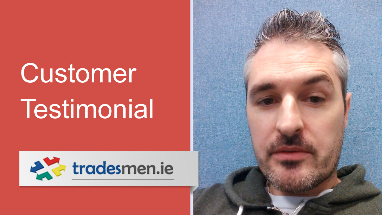 Customer testimonial paul marconi