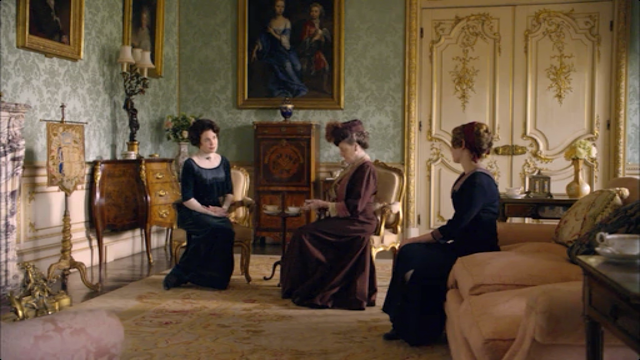 Drawing room downton Abbey