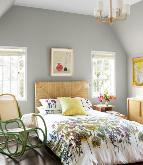 Guest bedroom country living