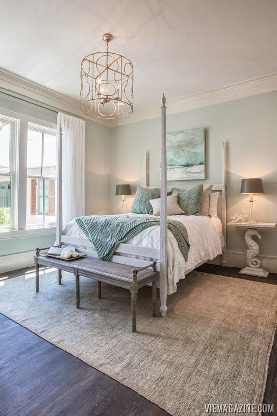 9 tips for creating a welcoming spare bedroom tradesmen for Coastal bedroom design