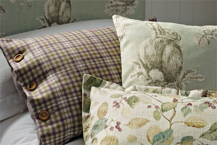 4. Sanderson-Woodland-Walk-Fabrics-Squirrel-and-Hedgehog-Cushion