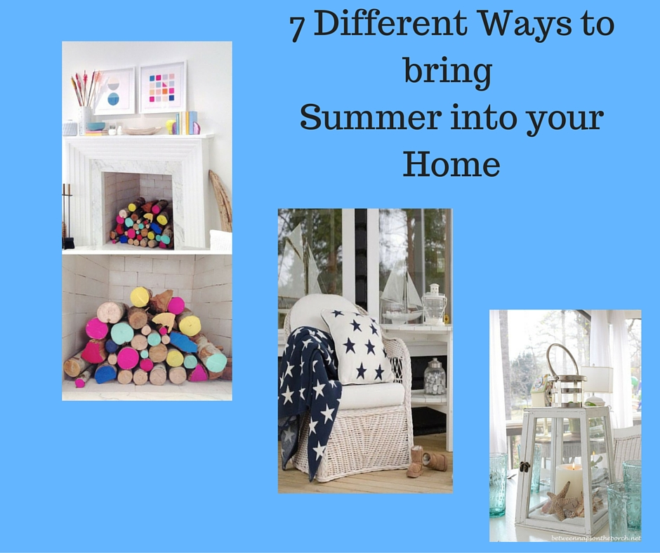 7 Different ways to bring summer into your home