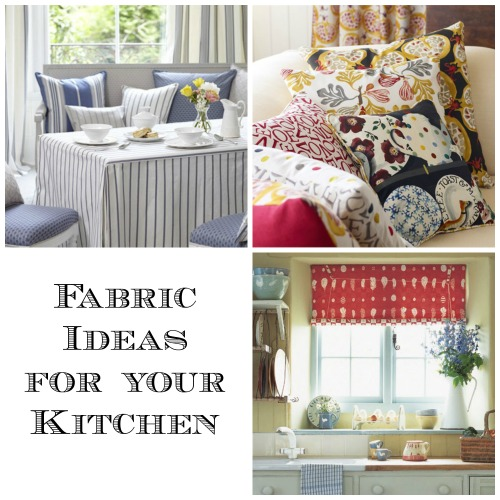 Fabric Ideas for your Kitchen