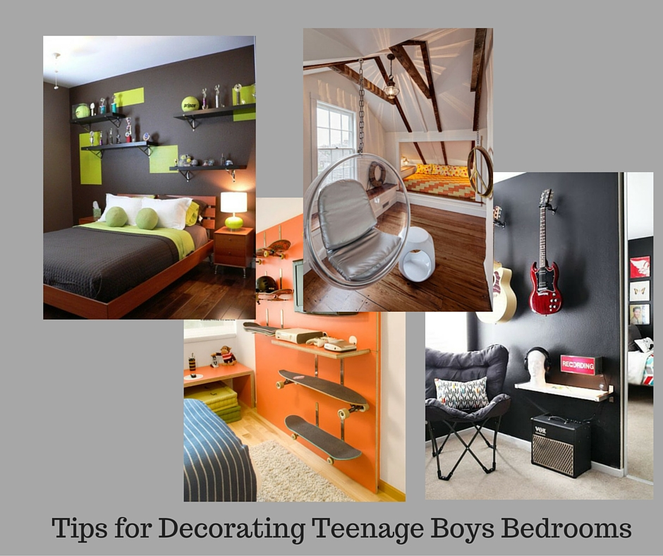 Boys Bedroom Makeover: Tips For Decorating Teenage Boys Bedrooms