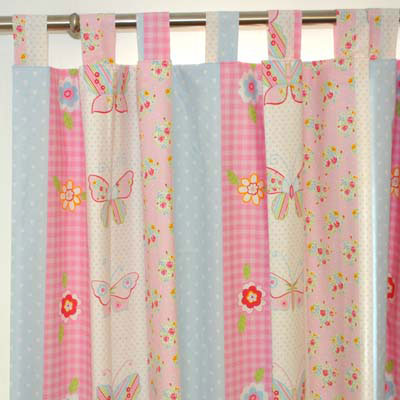 Window dressing tips which curtain heading tradesmen for Kids drapery fabric