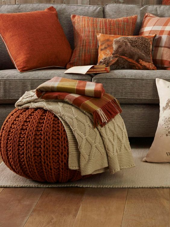 Autumnal cushions