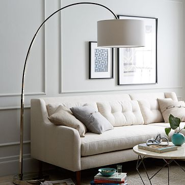Overhanging lamp