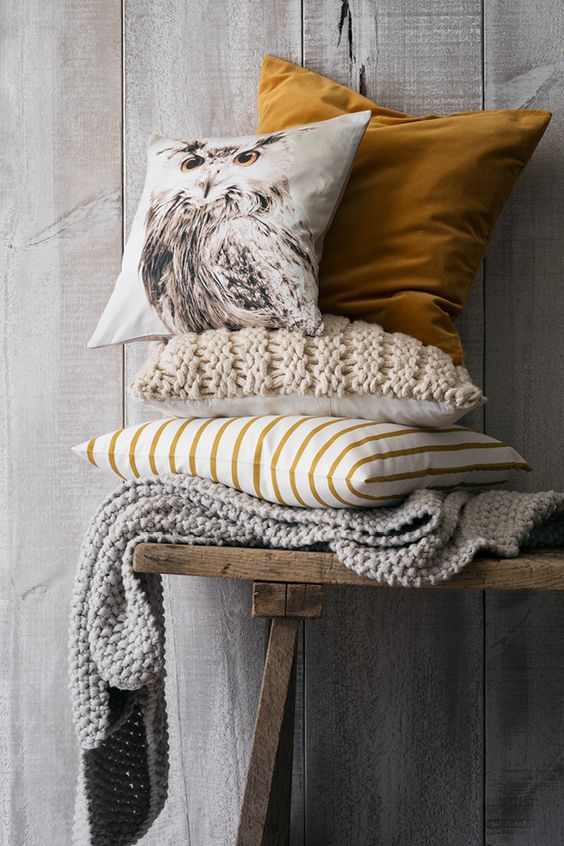 autumn cushions