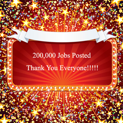 200,000 Jobs Posted
