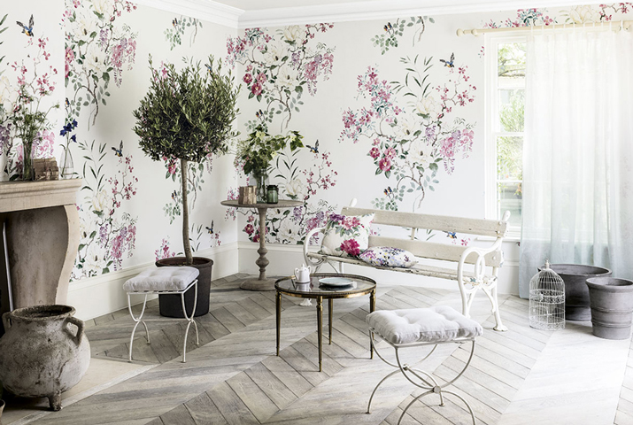 Interior design trends for 2017 for Current wallpaper trends 2016