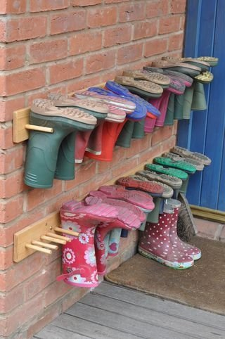 Wellie storage