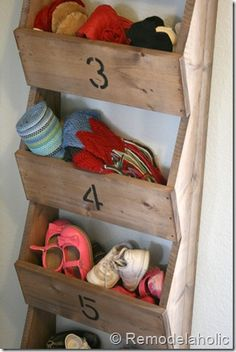 shoe storage hall