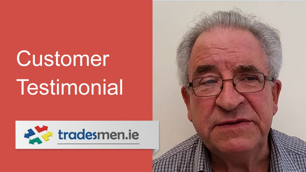 Customer Testimonial from Pat Tierney