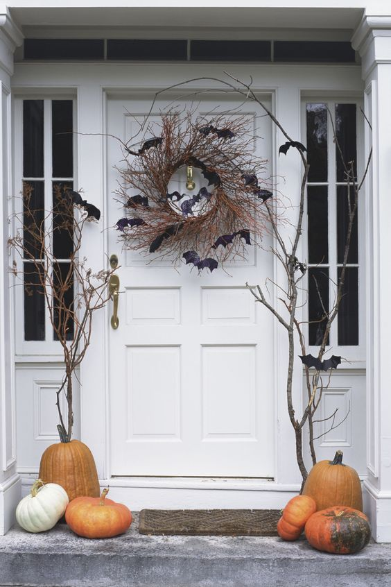 front-door-halloween-bats