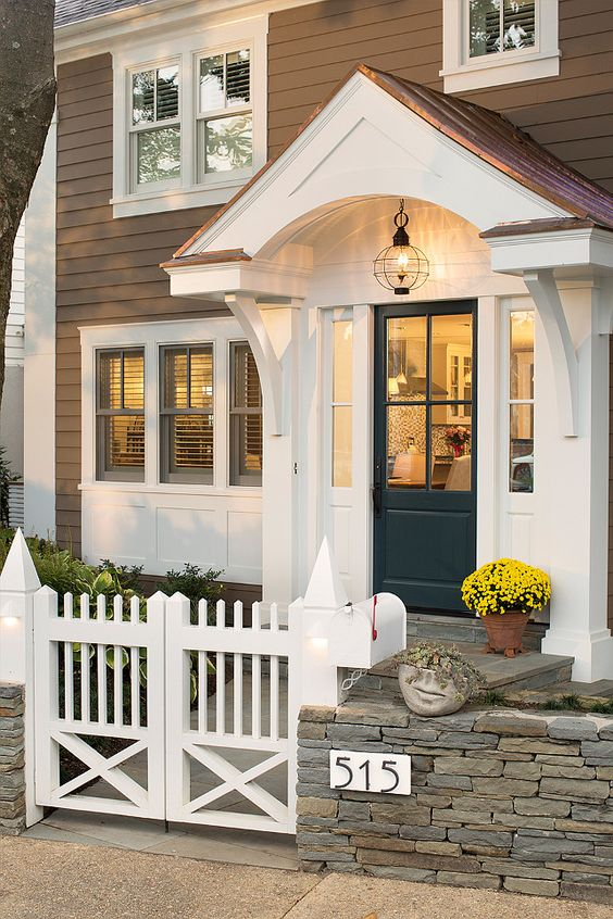 Getting your front door ready for winter for Exterior entryway designs