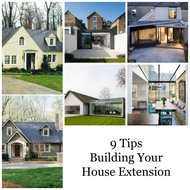 9 Tips for building your house extension