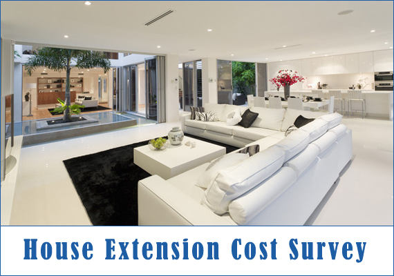 House extension cost survey 2017 - Average cost of a new bathroom 2017 ...