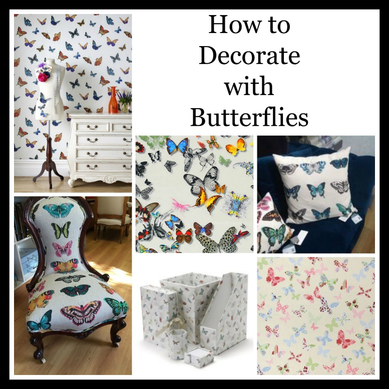 How to decorate with butterflies