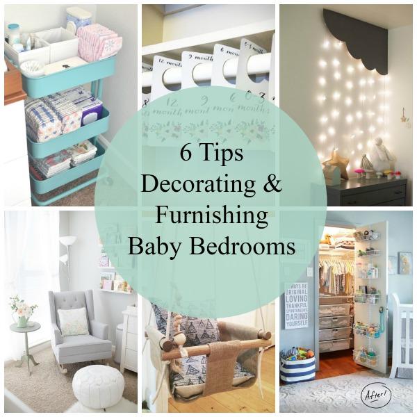6 Tips Baby Bedrooms