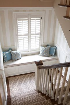 Window seat stairs