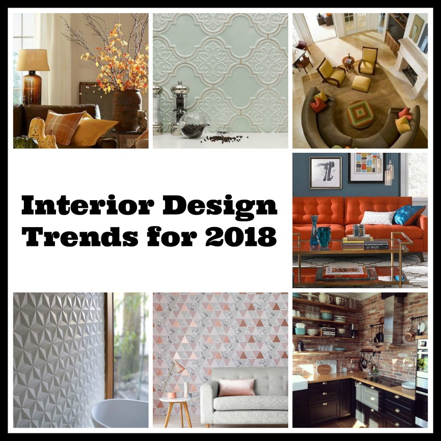 interior design trends for 2018