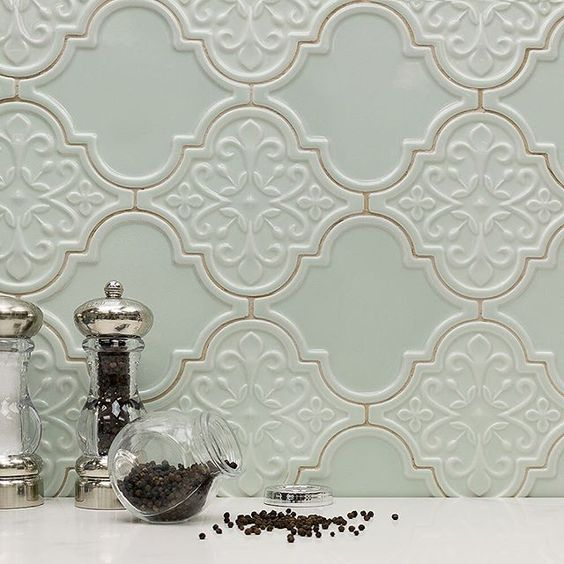 Interior design trends - kitchen tiles