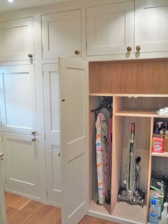 Utility room tall cupboards