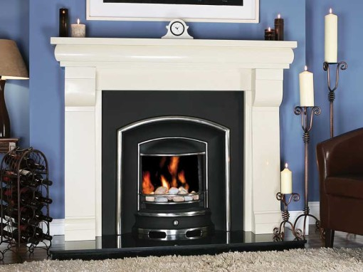fireplace traditional