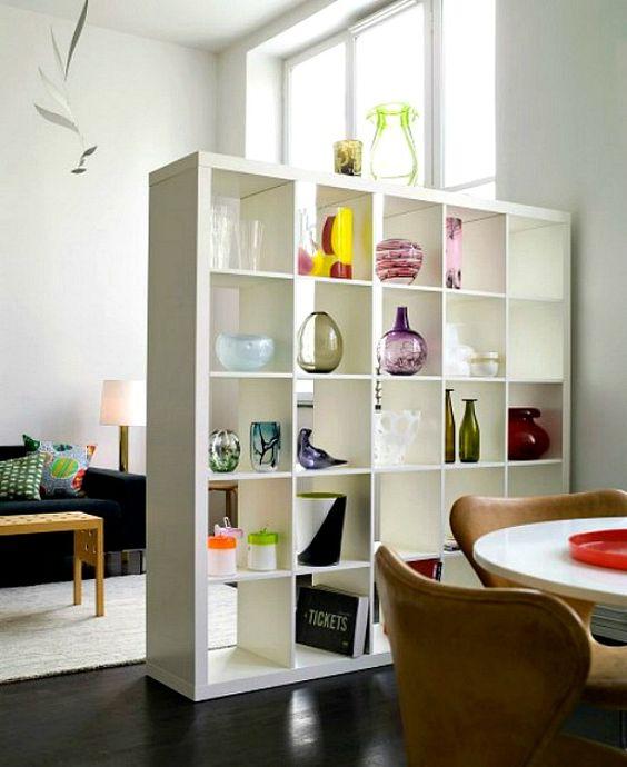 room divider storage