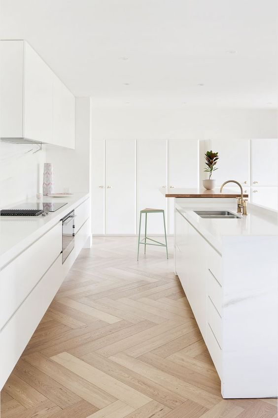 White minimalist