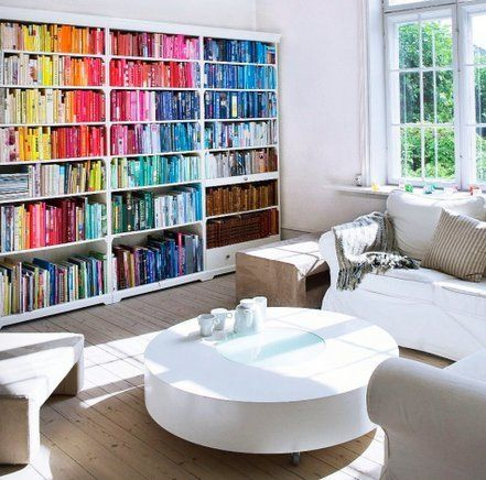 books by colour