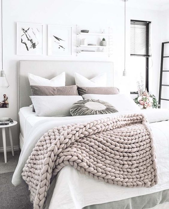 white bedroom texture