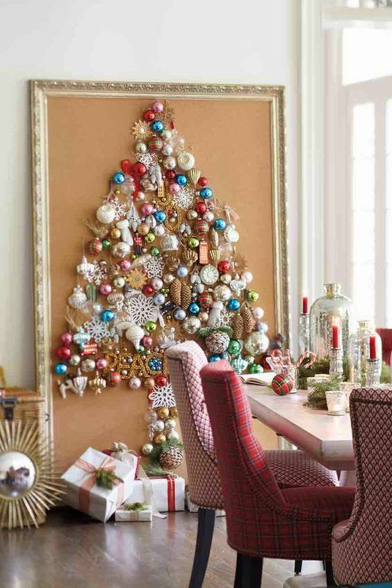 Wall Christmas Tree big