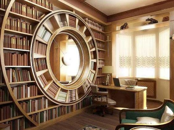 library cirlce