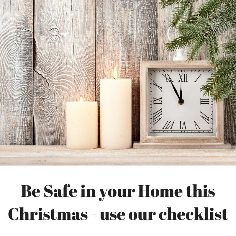 Be safe in your home this Christmas